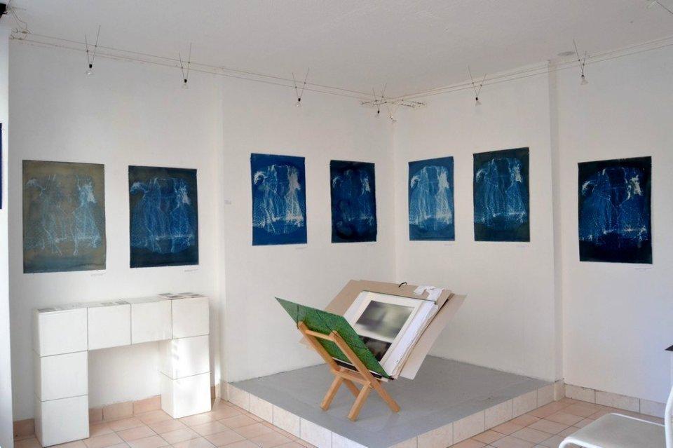 vue de l'exposition galerie arcuterie Poitiers