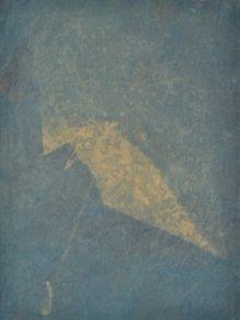 parapluie, 100 x 75 cm